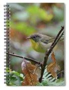 Nashville Warbler Spiral Notebook