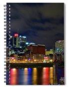 Nashvilles Ghost Ballet Spiral Notebook