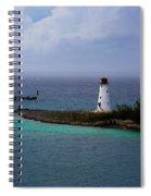 Nassau Harbor Lighthouse Spiral Notebook