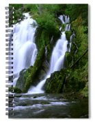 National Creek Falls 02 Spiral Notebook