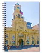 National History Museum On Plaza De Armas In Santiago-chile Spiral Notebook