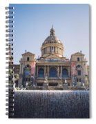 National Palace Barcelona Spiral Notebook