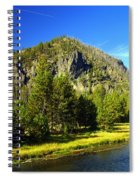 National Park Mountain Spiral Notebook