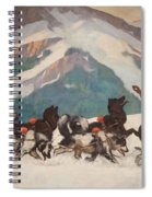 National Park Service - North Country Spiral Notebook
