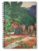 National Park Service - Tropical Country Spiral Notebook