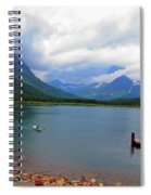 National Parks. Serenity Of Mcdonald Spiral Notebook