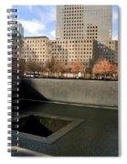 National September 11 Memorial New York City Spiral Notebook