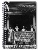 National Womens Party Spiral Notebook