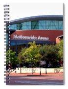 Nationwide Arena Spiral Notebook