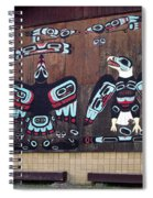 Native Alaskan Mural Spiral Notebook