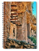 Native American Cliff Dwellings Spiral Notebook