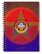 Native American Decal Spiral Notebook