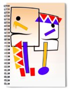 Native American Design Spiral Notebook