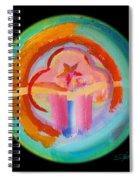 Native American Plate Spiral Notebook