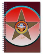 Native American Red Spiral Notebook