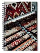Native American Rugs Spiral Notebook