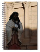 Native American Saint Spiral Notebook