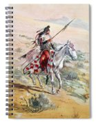 Native American Warrior Spiral Notebook