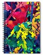 Native Plants Become Art.  Spiral Notebook