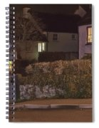 Nativity In A Mylor Bridge Garden Spiral Notebook
