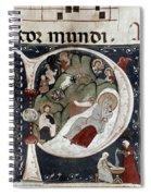 Nativity/croatian Spiral Notebook