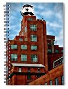 Natty Boh Tower  Spiral Notebook