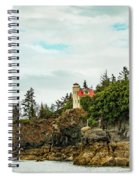 Natural Arch At Lighthouse Point Spiral Notebook