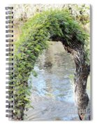 Natural Archway Over Hillsborough River Spiral Notebook