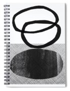 Natural Balance- Abstract Art Spiral Notebook
