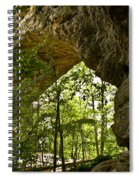 Natural Bridge Arch Spiral Notebook