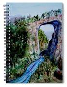 Natural Bridge In Virginia Spiral Notebook