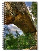 Natural Bridge Span Spiral Notebook