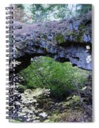 Natural Bridge Two   Spiral Notebook