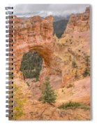 Natural Bridge - Vertical Spiral Notebook