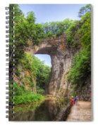 Natural Bridge - Virginia Landmark Spiral Notebook