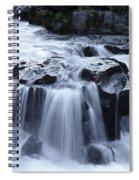Natural Bridges Falls 02 Spiral Notebook