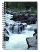 Natural Bridges Falls 03 Spiral Notebook