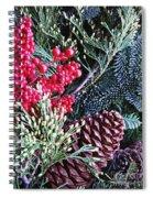 Natural Christmas 3 Spiral Notebook
