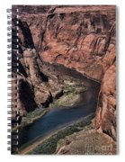 Natural Colorado River Page Arizona  Spiral Notebook