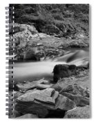 Natural Contrast Black And White Spiral Notebook