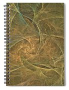Natural Forces- Digital Wall Art Spiral Notebook