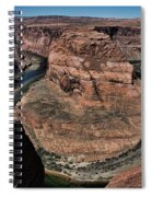 Natural Horseshoe Bend Arizona  Spiral Notebook