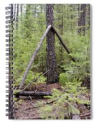 Natural Peace In The Woods Spiral Notebook