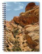 Natural Staircase Valley Of Fire Spiral Notebook