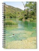 Natural Swimming Pool Spiral Notebook