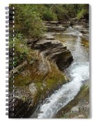 Natural Waterslide Spiral Notebook