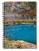 Naturally Blue Spiral Notebook