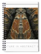 Nature In Abstract 3 Poster Spiral Notebook