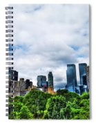 Nature In Metropolis Spiral Notebook
