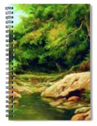 Nature Is Beautiful Impressionism Spiral Notebook